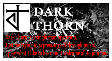 DARK THORN AD FOR MY WEBSITE